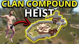 RICH RUST CLANS DECAYED Bases Are A GOLDMINE When Starting Fresh! - Rust Solo Survival Gameplay 1/3