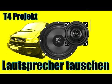 T4 Kabelbaum Lautsprecher Vorn und Hinten Radio VW Multivan