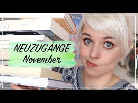 NEUZUGÄNGE NOVEMBER -  8 neue Bücher - Ups…