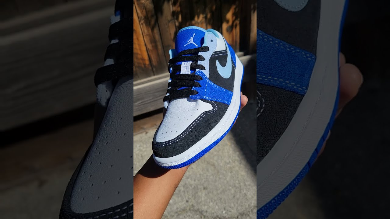 AIR JORDAN 1 LOW SE 'RACER BLUE' #shorts