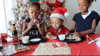 ❄️⛄️ ❄️  Christmas Holiday Sushi California Rolls Recipe ????