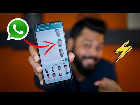 Create Your OWN CUSTOMIZED FACE STICKERS on WhatsApp 👨👩👩 WhatsApp Tips & Tricks