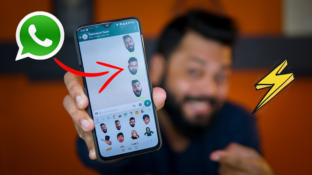 How to make own stickers on whatsapp ios