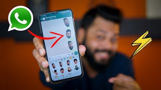 how to create stickers on whatsapp