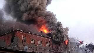 Zonguldak Merkez Acılıkta Büyük Yangın