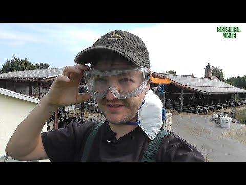 VLOG 12: Mähdrescher Crashkurs Teil 1 *Outside settings*
