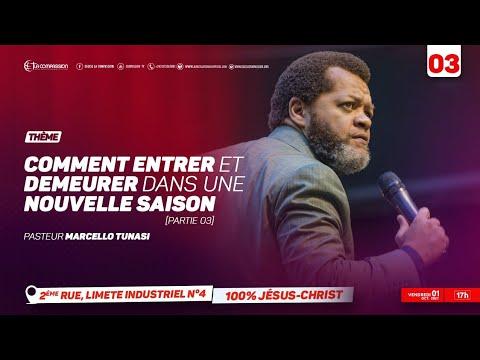 Comment entrer et demeurer dans une nouvelle saison. Pasteur MARCELLO TUNASI Culte du 01 Oct. 2021