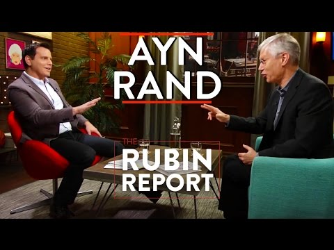 Ayn Rand: Philosophy, Objectivism, Self Interest full  with Yaron Brook