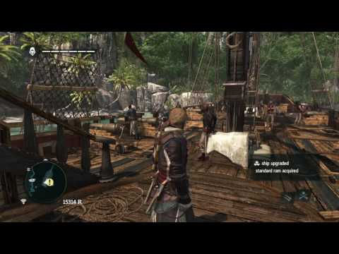Assassins Creed: Black Flag - Missions and Building a fleet