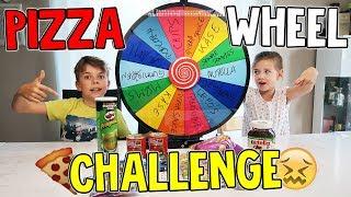 GLÜCKSRAD PIZZA CHALLENGE - Keine gute Idee?! MYSTERY WHEEL OF PIZZA - Lulu & Leon - Family and Fun