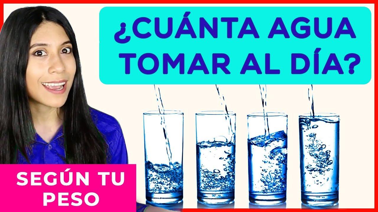 Cuánta Agua Tomar Según Nuestro Peso Youtube