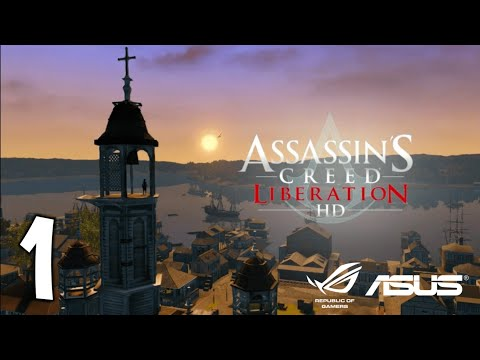 Assassin's Creed Liberation HD Walktrough PART 1