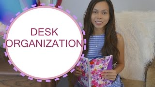Desk Organization, Desk Tour