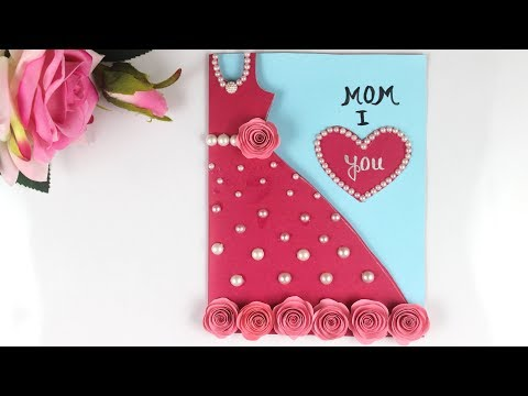 DIY Mother's Day Card / Mother's Day Card making / handmade card for MOM