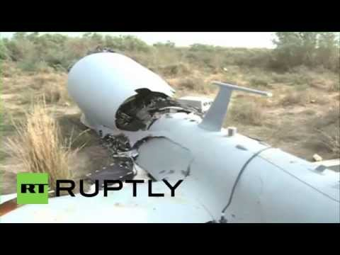 "Iraq: Alleged ""US Drone"" crashes from air in Wasit province"