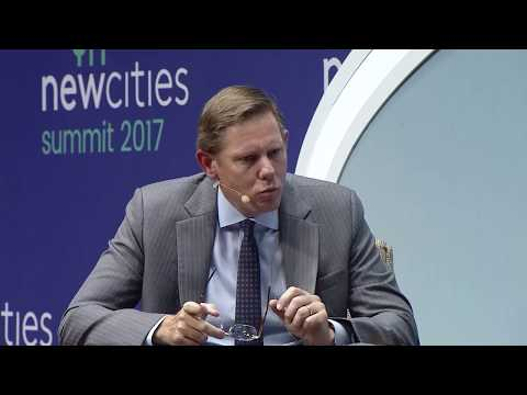 NewCities Summit 2017 - Greenfield Cities: Building Digitally Native Cities