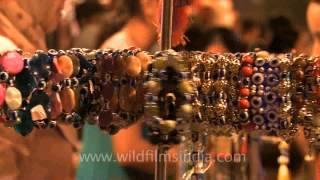 Turkish bracelets at Select City mall, Delhi