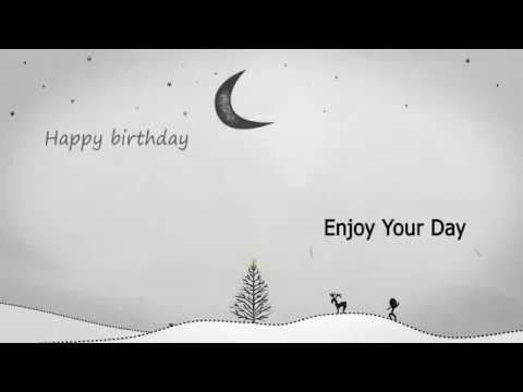 Best animated Happy birthday song