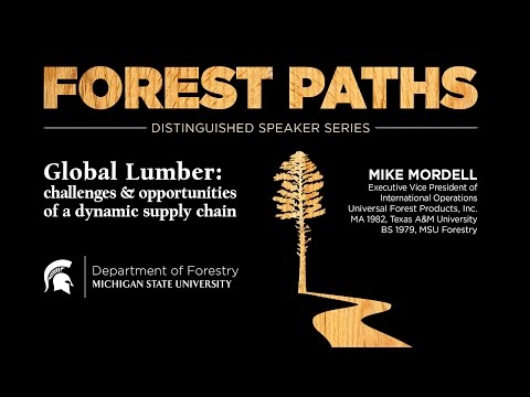Forest Paths Distinguished Speaker Series, Spring 2017