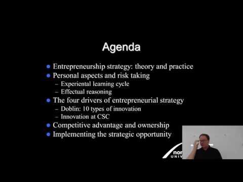 Effectual Entrepreneurship Lecture