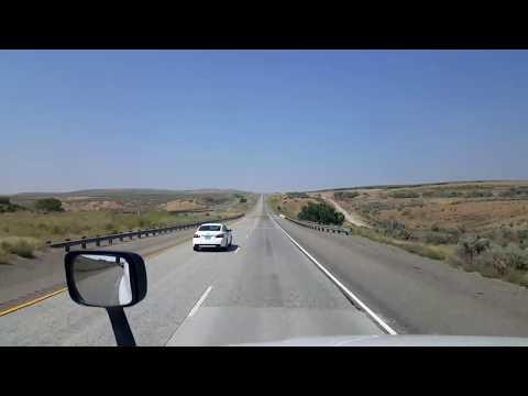 BigRigTravels LIVE! Ontario to La Grande, Oregon Interstate 84 West August 29, 2017