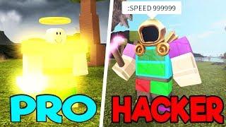 PRO VS HACKER! Booga Booga Roblox