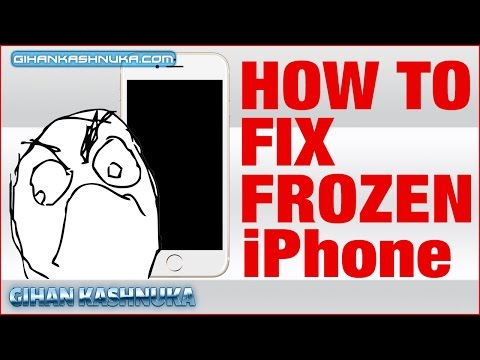 My Iphone Screen Is Frozen Nothing Working Cant Turn Off How To Fix