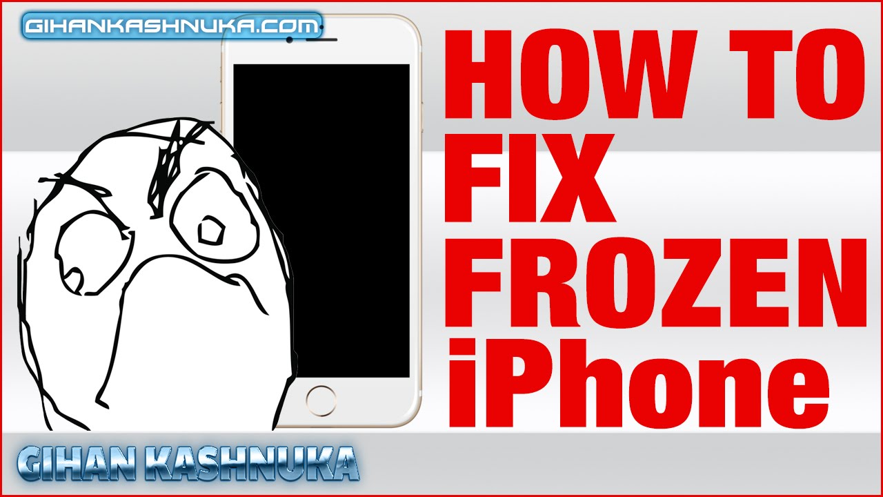 iphone frozen how to turn off