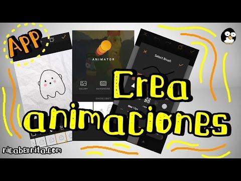 CÓMO HACER ANIMACIONES EN ANDROID * Aplicación para crear animaciones y gifs animados
