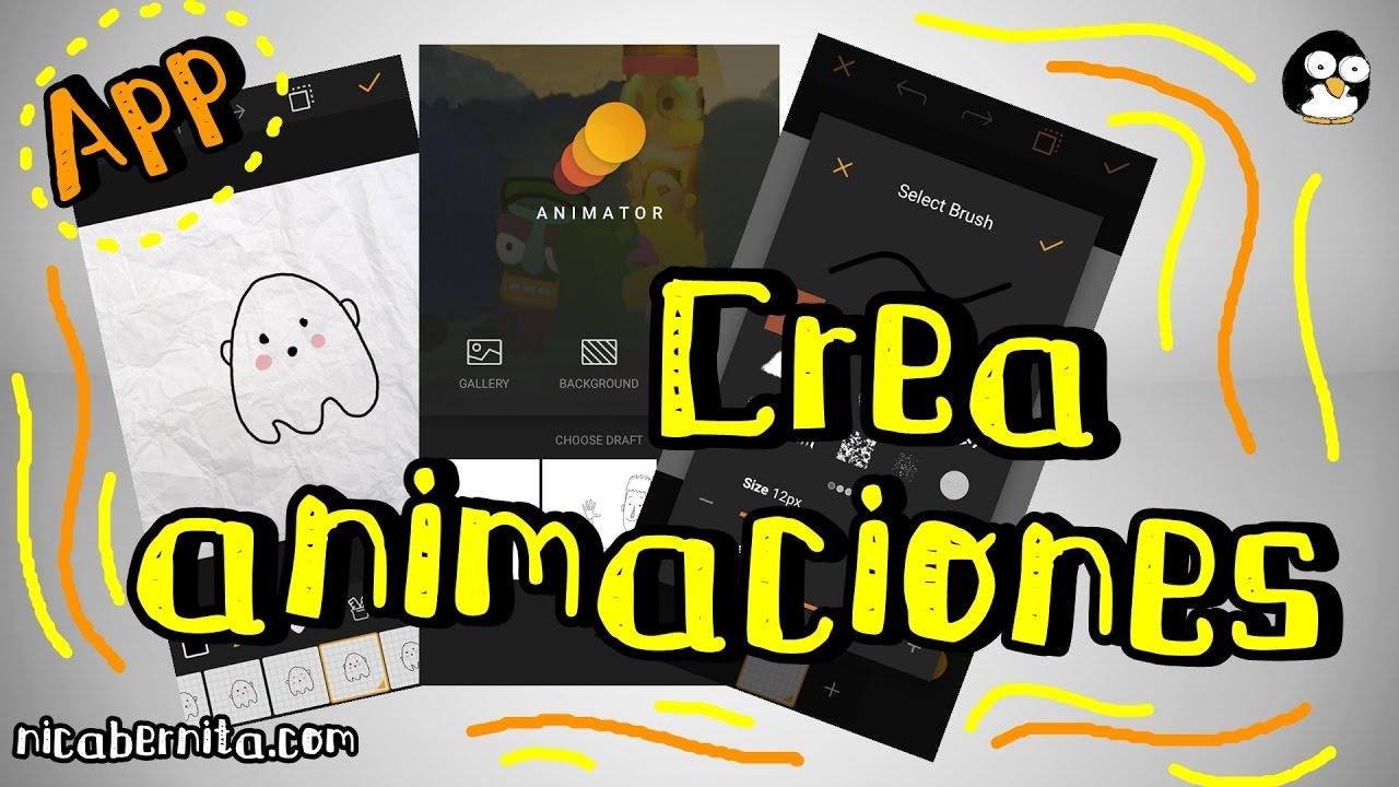 Cómo Hacer Animaciones En Android Aplicación Para Crear Animaciones Y Gifs Animados