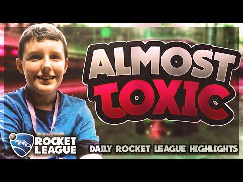 Daily Rocket League Plays: Plunger butt doink!!