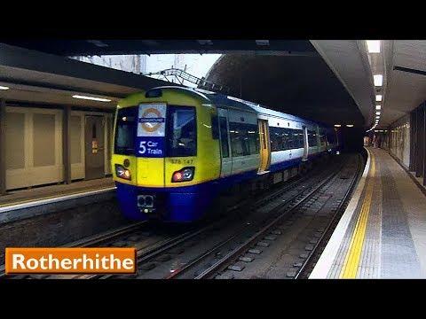 London Overground : Rotherhithe | East London Line ( British Rail Class 378 )