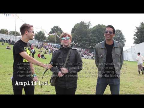 Saves the Day Interview - Leeds Festival 2012