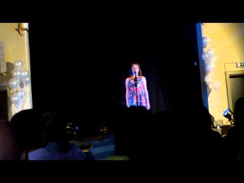 Carys Elin Jones singing 'someone like you' by Adele