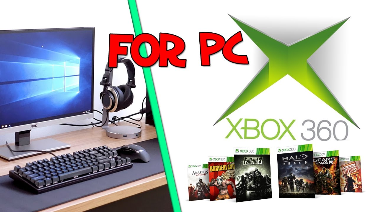 DOWNLOAD AND INSTALL XBOX 360 EMULATOR PC FOR FREE (32 bits - 64 bits )