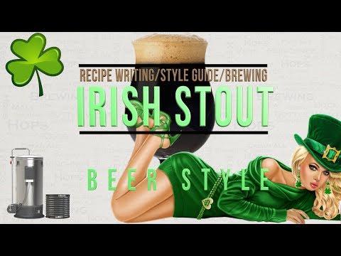 Irish Stout brewing recipe writing guide Grainfather 4K HD