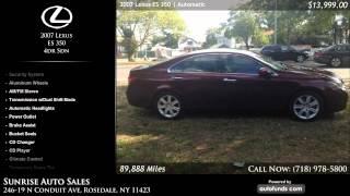 Used 2007 Lexus ES 350 | Sunrise Auto Sales, Rosedale, NY