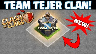 "Clash of Clans [NEW CLAN = TEAM TEJER! ""JOIN NOW!"" CLAN WARS ATTACKS + All Archer LOOT RAID!"""