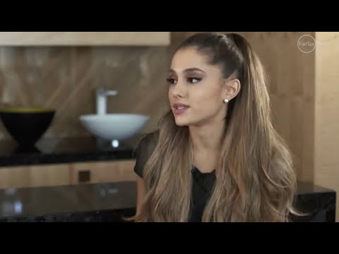 Ariana Grande's interview on Fairfax Media