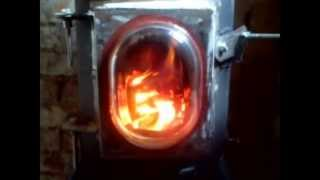 Gas Bottle Wood Burning Stove Part 5