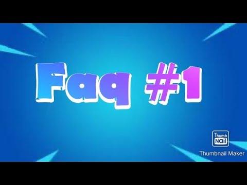 Petite vidéo faq#1