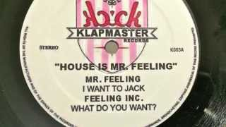 Mr. Feeling - I Want To Jack
