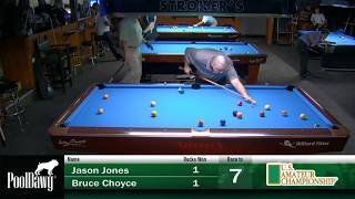 2018 US Amateur Championship - Round 1 - Bruce Choyce VS Jason Jones
