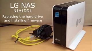 LG NAS N1A1DD1 Replacing the h…
