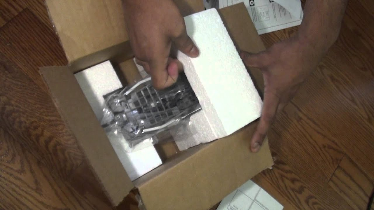 Sony XL 2400 Replacement Lamp: Unboxing - YouTube