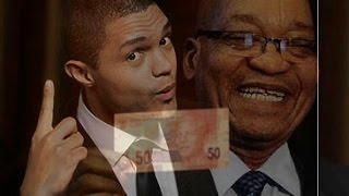 Jacob Zuma vs Trevor Noah .Who is the best paid comedian.And the winner is?