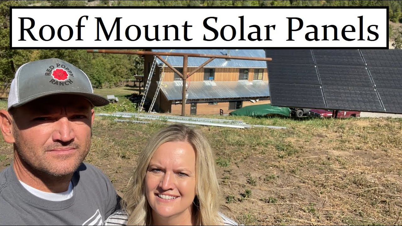 #516 - Moving Solar Panels From Ground Mount To Roof Mount (Adjustable Roof Mount)