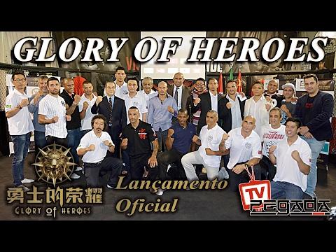 TV Pegada #63 - Lançamento Oficial do Glory of Heroes Brasil