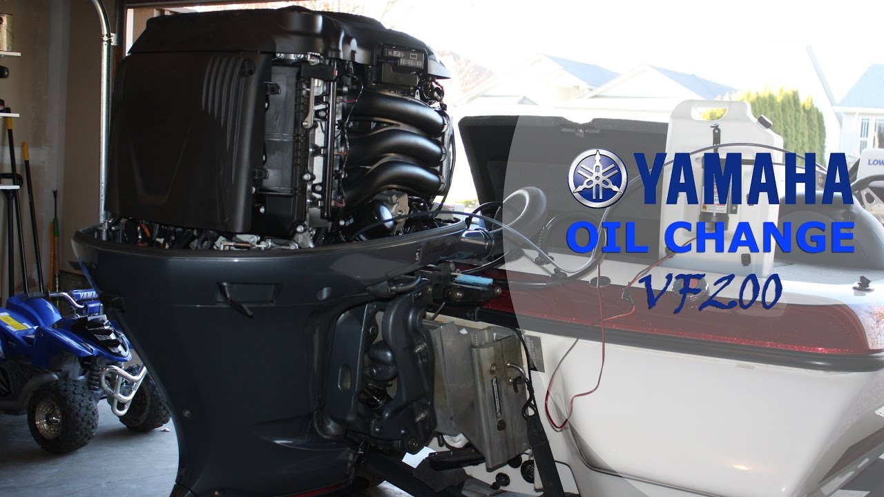 How to Change the Oil Yamaha VMAX SHO [Four Stroke Outboard]  YouTube