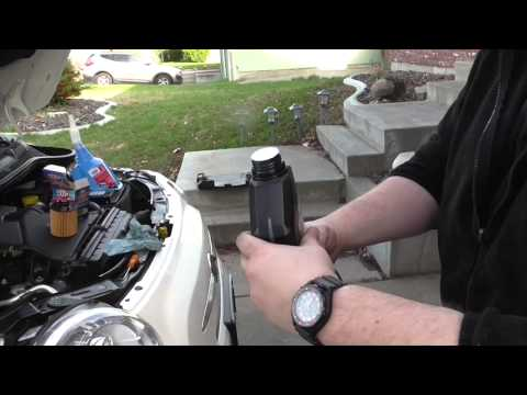 How to change oil on fiat 500 fast and easy DIY